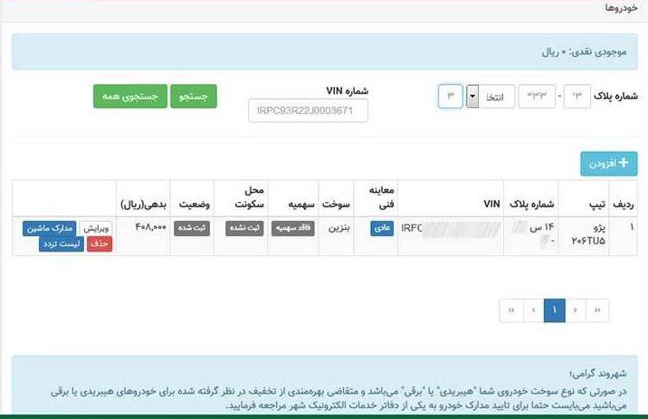 نحوه ثبت نام در سایت تهران من برای طرح ترافیک 99