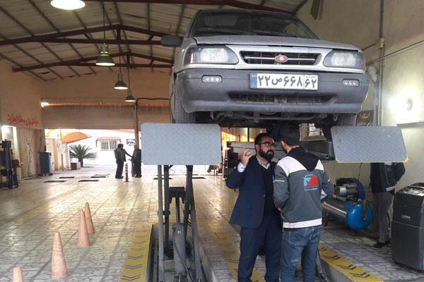 مراکز معاینه فنی تهران