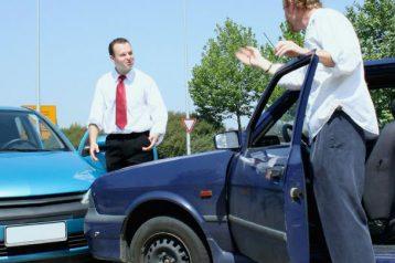 عدم جابجایی خودرو بعد از تصادف
